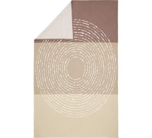KUSCHELDECKE 140/200 cm - Beige/Braun, Natur, Textil (140/200cm) - Linea Natura
