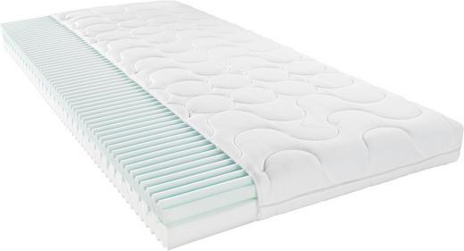 KOMFORTSCHAUMMATRATZE 90/200 cm - Weiß, Basics, Textil (90/200cm) - Xora