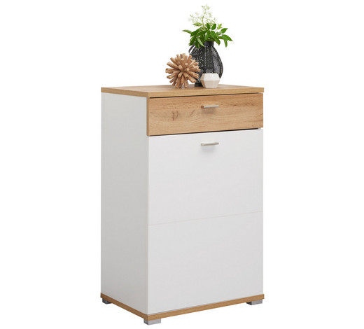schuhschrank foliert melamin tiefgezogen eichefarben. Black Bedroom Furniture Sets. Home Design Ideas