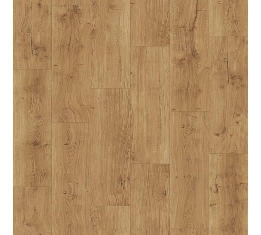 DESIGNBODEN per  m² - Hellbraun/Eichefarben, MODERN, Holz/Kunststoff (128,5/19,4/0,8cm) - Parador