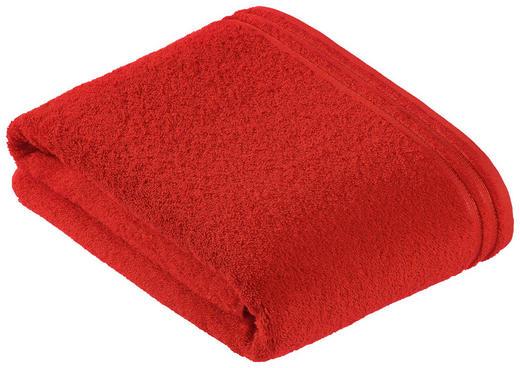 BADETUCH 100/150 cm - Dunkelrot, Basics, Textil (100/150cm) - VOSSEN