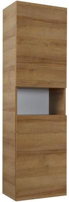 VISOKI ELEMENT - boje hrasta, Design, staklo/drvni materijal (45/168/43cm) - Sadena