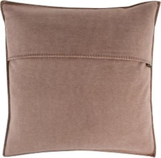 KISSENHÜLLE Taupe 50/50 cm - Taupe, Textil (50/50cm) - ZOEPPRITZ