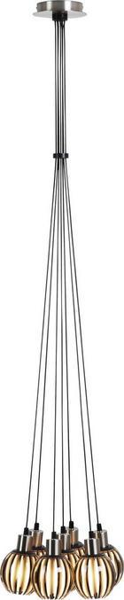 HÄNGELEUCHTE - Grau, LIFESTYLE, Kunststoff (150cm)