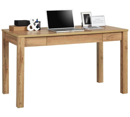 PSACÍ STŮL, barvy dubu - barvy dubu, Konvenční, kompozitní dřevo (138/78/67cm) - Hom`in