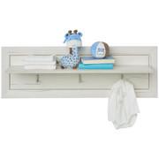 Wandboard in 106,2/33,5/21,6 cm Weiß - Weiß, Natur, Holzwerkstoff (106,2/33,5/21,6cm) - My Baby Lou