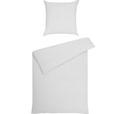 BETTWÄSCHE Seersucker Weiß 155/220 cm - Weiß, Basics, Textil (155/220cm) - Janine