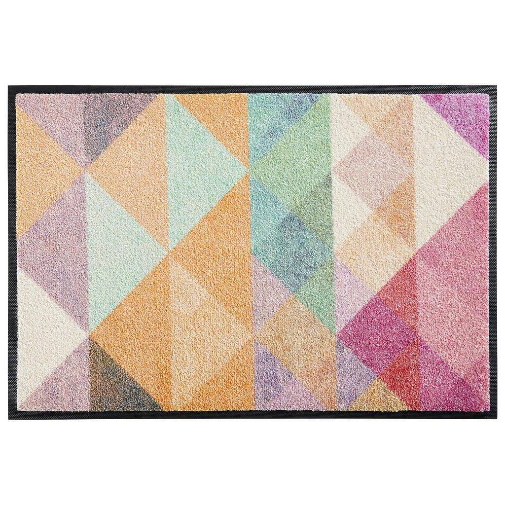 Esposa Fußmatte 50/75 cm abstraktes multicolor