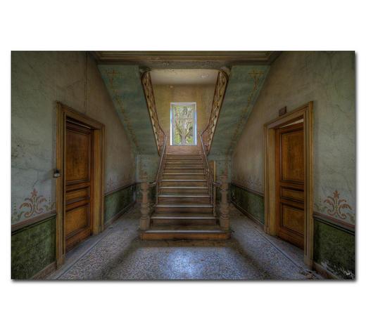 """Architektur BILD """"ADORNMENTS OF THE PAST""""  - Multicolor, Basics, Holzwerkstoff/Kunststoff (120/80cm) - Wiedemann"""