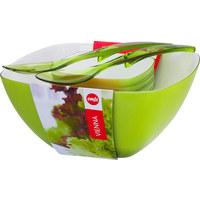 SALATSET - Grün, Basics, Kunststoff - Emsa