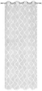 ÖSENVORHANG halbtransparent - Weiß, Design, Textil (140/245cm) - Esposa