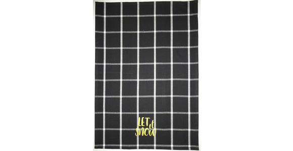 GESCHIRRTUCH-SET 3-teilig Rot, Schwarz, Weiß  - Rot/Schwarz, KONVENTIONELL, Textil (50/70cm) - Esposa