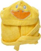 DĚTSKÝ KOUPACÍ PLÁŠŤ - žlutá, Basics, textil (74-80) - MY BABY LOU