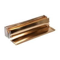 UNTERLAGSMATTE 1250/120 cm  - Goldfarben, Basics, Kunststoff (1250/120cm) - Homeware