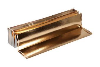 UNTERLAGSMATTE 1250/120 cm - Goldfarben, Basics, Kunststoff (1250/120cm)