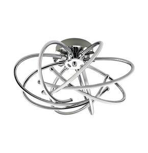 LED-TAKLAMPA - alufärgad, Design, metall/plast (44/44/24cm) - Novel