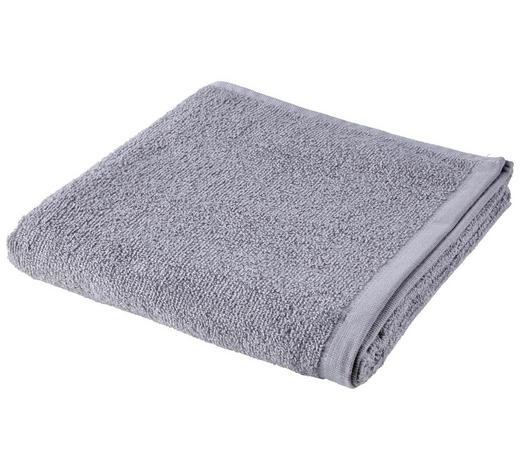 RUČNÍK, 50/100 cm, šedá - šedá, Basics, textil (50/100cm) - Esposa