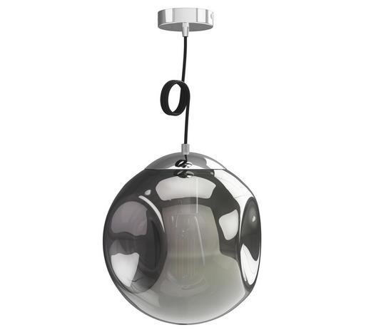 HÄNGELEUCHTE - Grau, Design, Glas (30cm) - Dieter Knoll