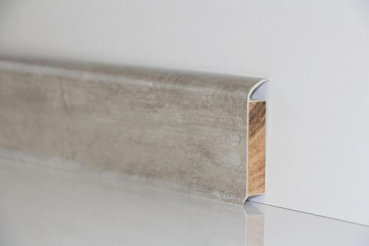 SOCKELLEISTE - Grau, Basics (250/6/1,3cm) - Venda