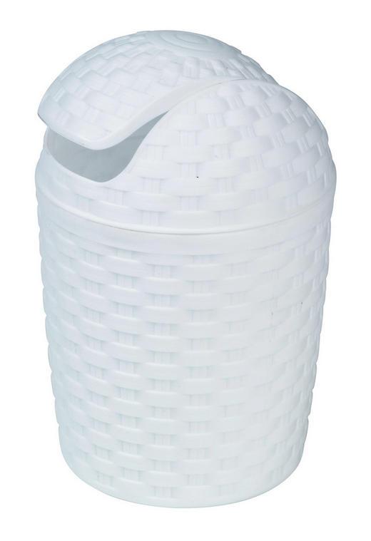 SCHWINGDECKELEIMER 5 - Weiß, Basics, Kunststoff (5,0l) - Plast 1