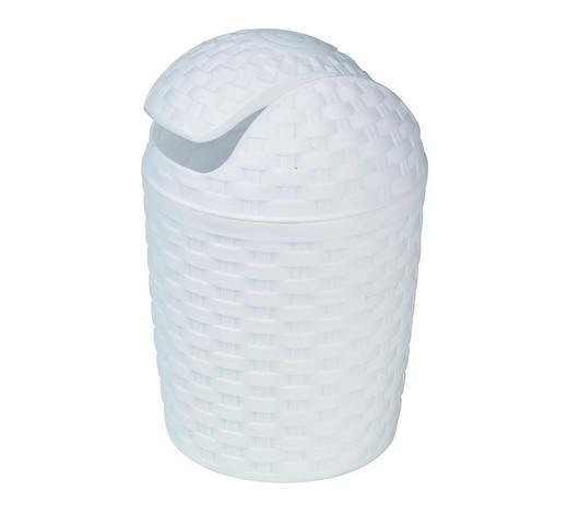 SCHWINGDECKELEIMER 5 L  - Weiß, Basics, Kunststoff (5,0l) - Plast 1