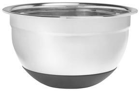 VISPSKÅL - rostfritt stål-färgad, Basics, metall/plast (22/13,5cm) - Homeware