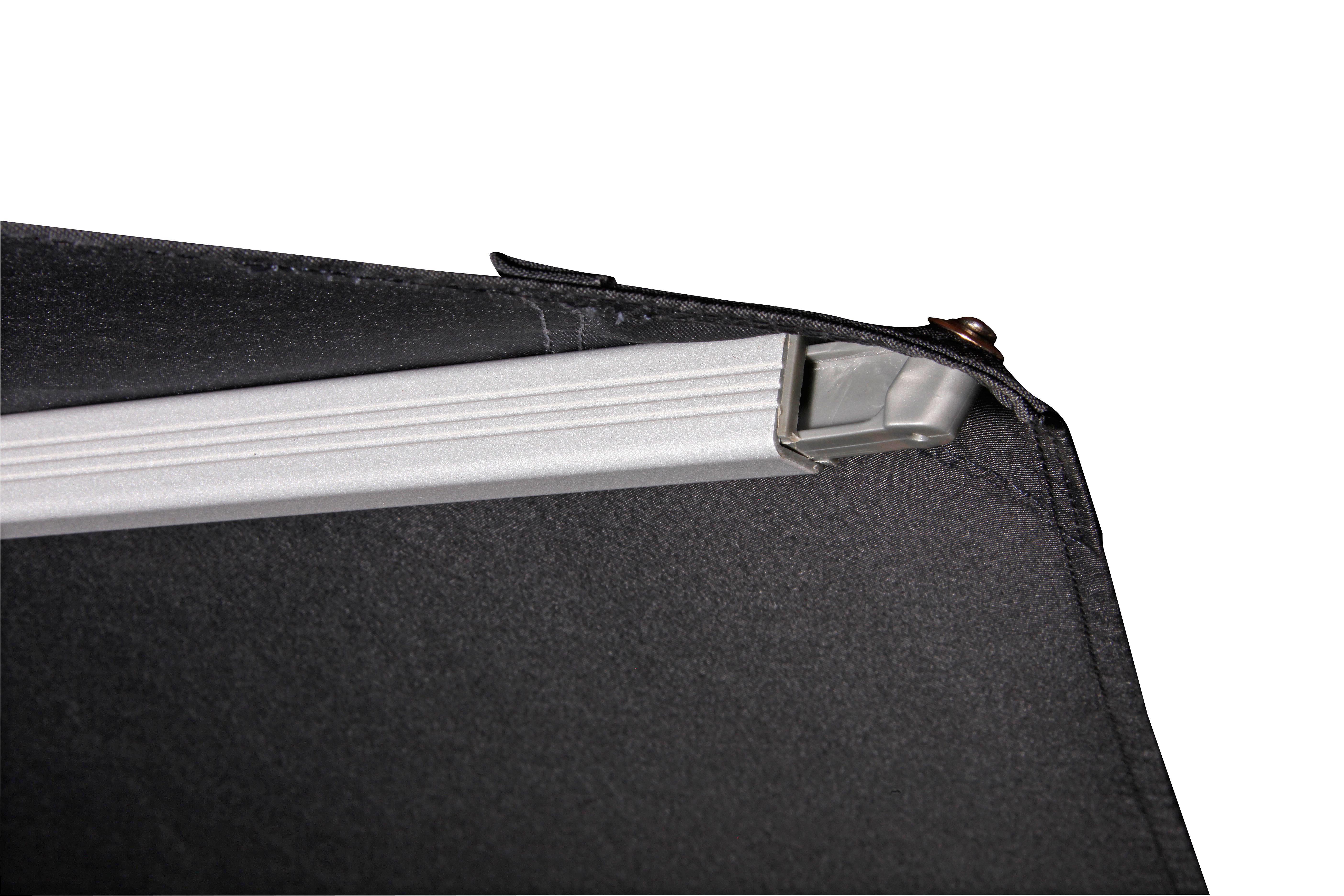 PENDELSCHIRM 275 cm Dunkelgrau - Dunkelgrau/Silberfarben, KONVENTIONELL, Textil/Metall (275/263/275cm)