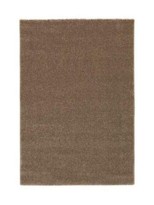 HOCHFLORTEPPICH  140/200 cm  gewebt  Braun - Braun, LIFESTYLE, Kunststoff/Textil (140/200cm) - NOVEL