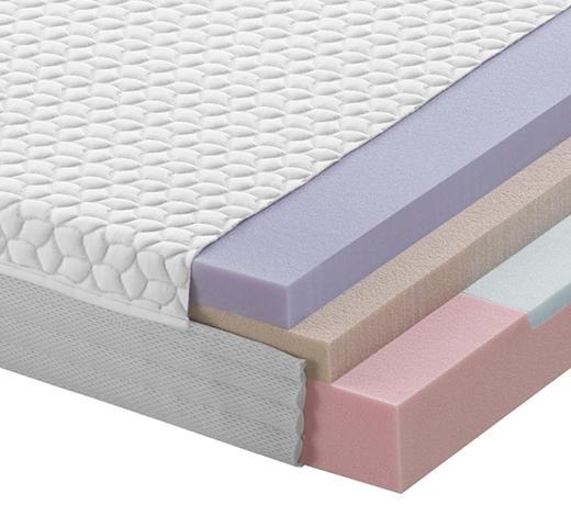KALTSCHAUMMATRATZE FUSION EVO 20 100/200 cm - Weiß, Basics, Textil (100/200cm) - Dieter Knoll
