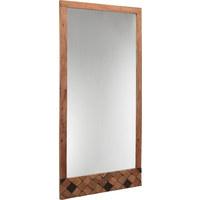 SPIEGEL 76/150/3 cm - Akaziefarben, Trend, Glas/Holz (76/150/3cm) - Ambia Home