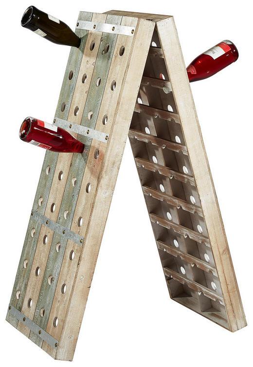 WEINREGAL Altholz Braun - Braun, LIFESTYLE, Holz (48/14/121cm)