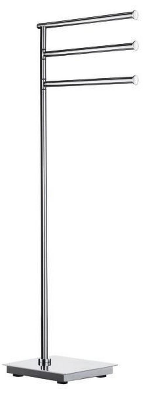 HANDTUCHSTÄNDER - Edelstahlfarben, Basics, Metall (17,5/78/17,5cm)