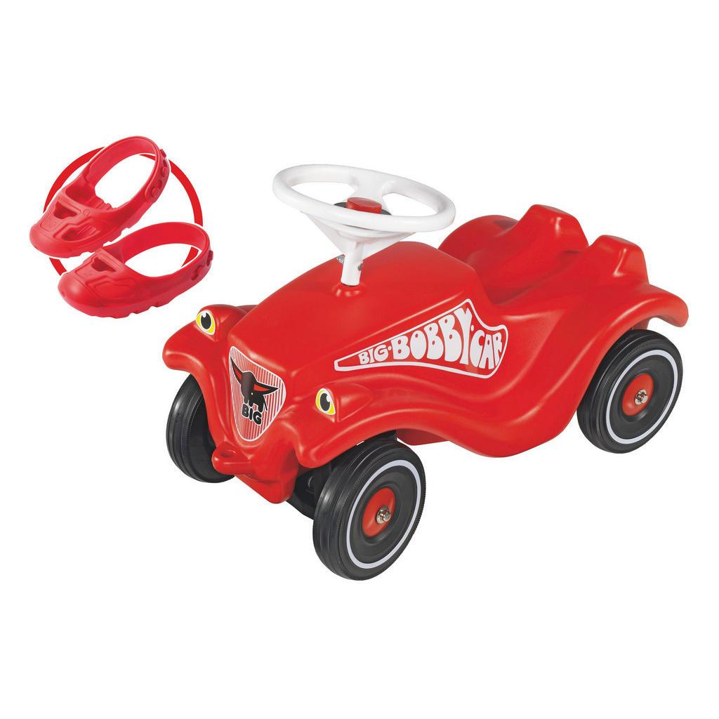 BIG RUTSCHFAHRZEUG Big Bobby Car, Rot   Kinderzimmer > Spielzeuge > Kinderfahrräder   Kunststoff   BIG