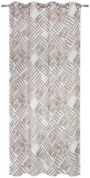 ÖLJETTLÄNGD - beige, Design, textil (135/245cm) - Esposa