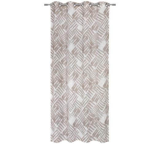 ÖSENSCHAL  halbtransparent  135/245 cm   - Beige, Design, Textil (135/245cm) - Esposa
