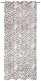 ZAVJESA S RINGOVIMA - bež, Design, tekstil (135/245cm) - Esposa