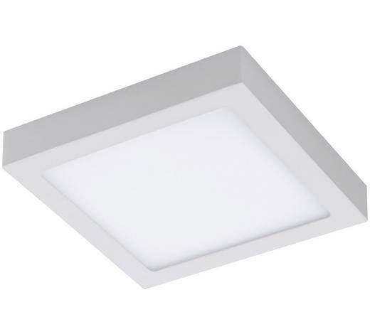 LED-PANEEL - Weiß, Basics, Kunststoff/Metall (22,5/22,5/4cm)