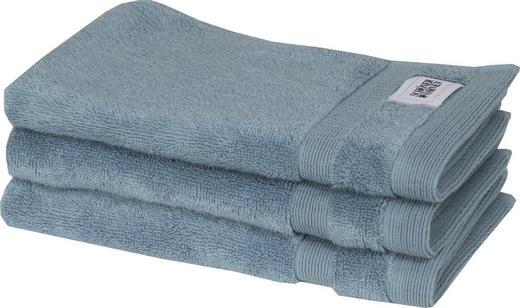 GÄSTETUCH 3-teilig Hellblau 30/50 cm - Hellblau, Textil (30/50cm) - Schöner Wohnen