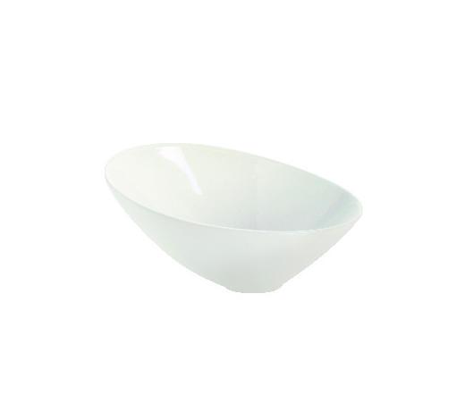 SCHALE Keramik Steinzeug  - Weiß, Basics, Keramik (22.5cm) - ASA