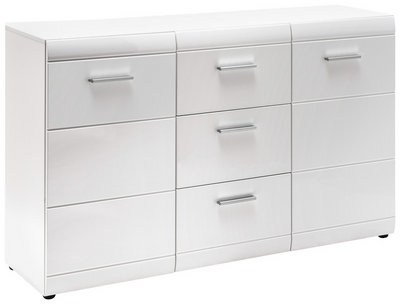Carryhome Sideboard weiß