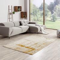 FLACHWEBETEPPICH  80/150 cm  Gelb - Gelb, Textil (80/150cm) - Novel