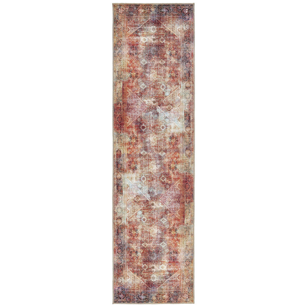 Novel Läufer 80/300 cm multicolor
