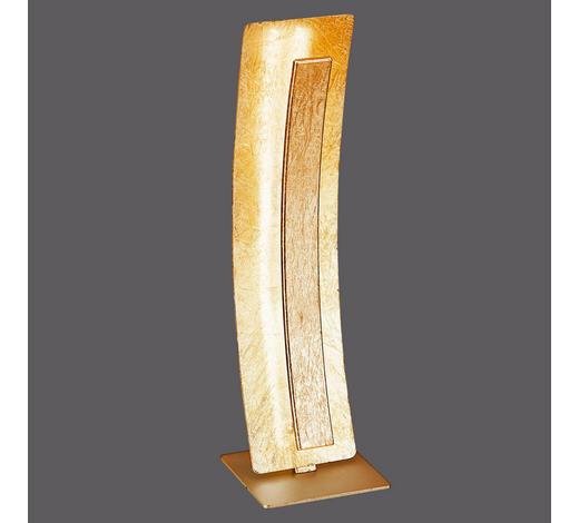 LED-TISCHLEUCHTE   - Goldfarben, Design, Metall (12/40,5cm)