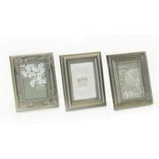 OKVIR ZA SLIKE - boje srebra, Basics, plastika (20/25cm)