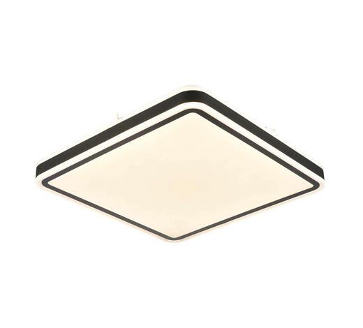 LED STROPNÍ SVÍTIDLO - bílá, Basics, kov/umělá hmota (54/54cm) - Novel