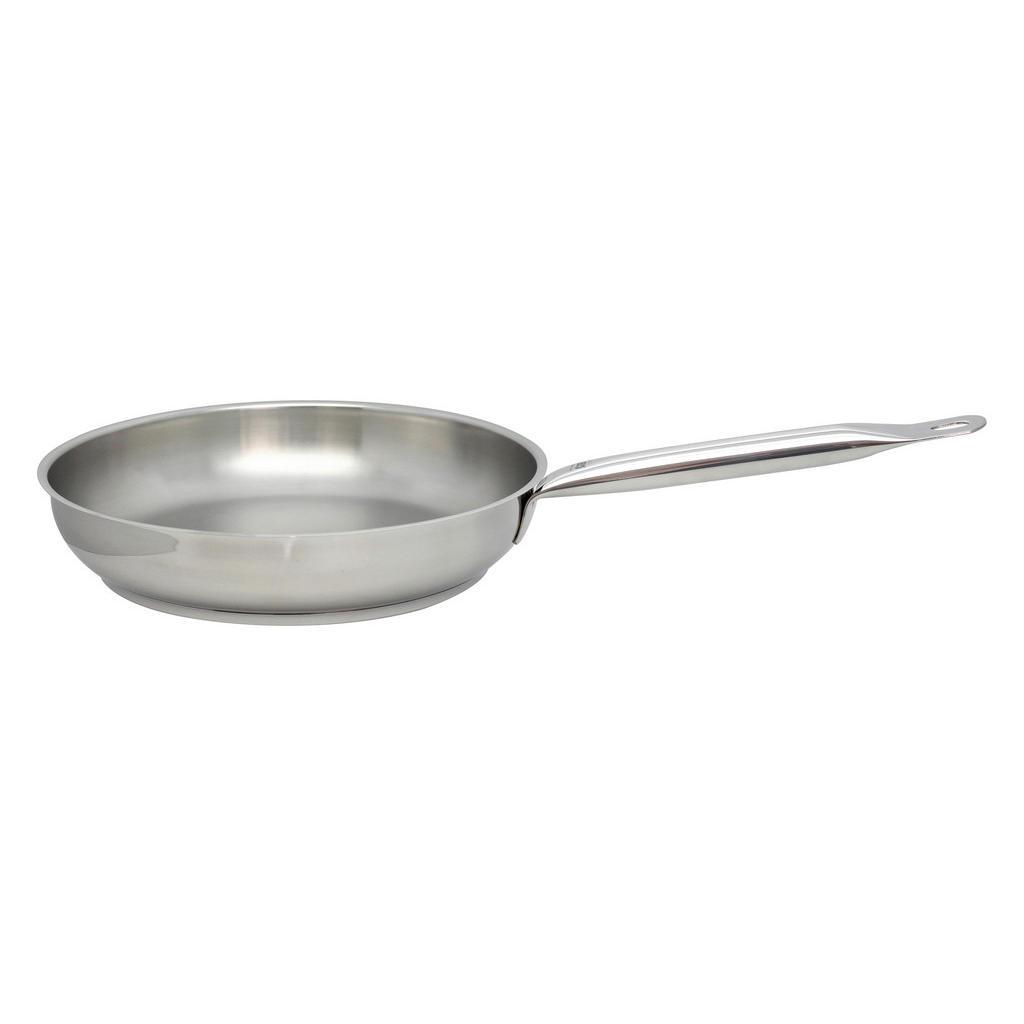 ELO Bratpfanne Profi Therm , Silber , Metall , rund , 54x6.5x54 cm , backofengeeignet , Kochen, Pfannen, Bratpfannen
