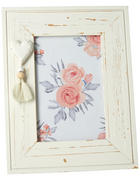 FOTORAHMEN in Weiß  - Weiß, LIFESTYLE, Glas/Holz (17/22cm) - Ambia Home