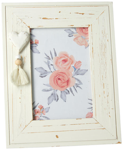 RÁMEČEK NA FOTOGRAFIE - bílá, Lifestyle, dřevo/kompozitní dřevo (17/22cm) - Ambia Home