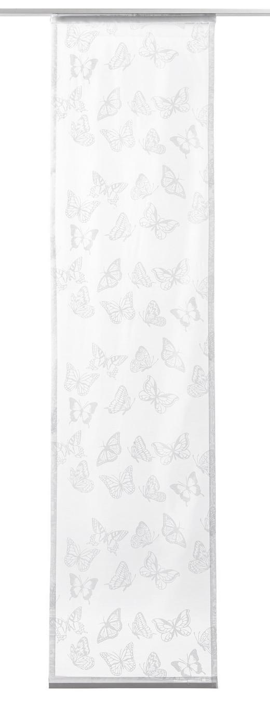FLÄCHENVORHANG     60/245 cm - Schwarz, Basics, Textil (60/245cm) - Novel