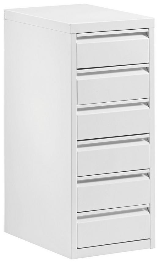 CONTAINER Weiß - Weiß, Design, Metall (28/67/41cm) - Carryhome
